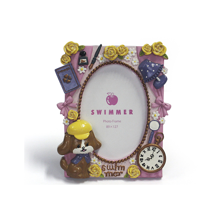 China Manufacturer OEM Children gift Resin Photo Frame