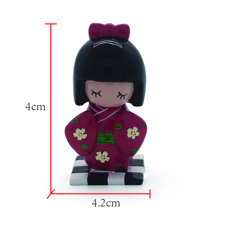 custom cute girl lovely polyresin figurine