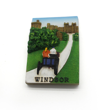 Souvenir Windsor Fridge Magnet Resin Home Decor