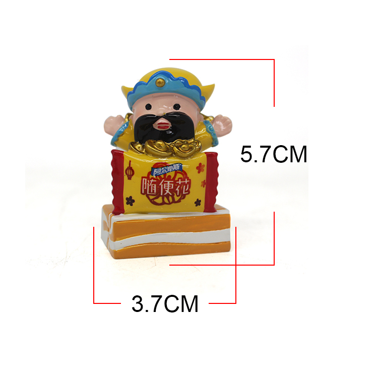 Candy shaped base home decor gifts novelty custom wishes resin figurines for sale