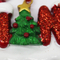 custom hanging resin christmas ornaments for sale