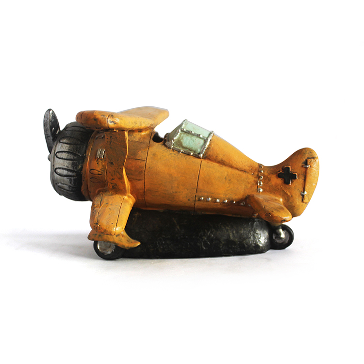 Tiny plane model custom resin crafts souvenirs