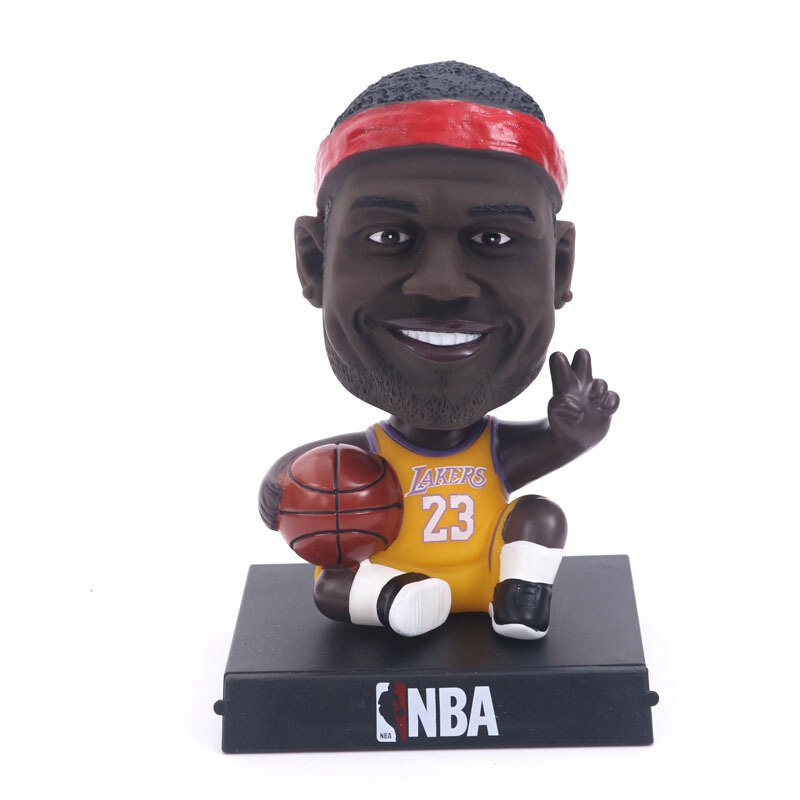 Custom made dashboard bobble head NBA basketball player action figure bobblehead