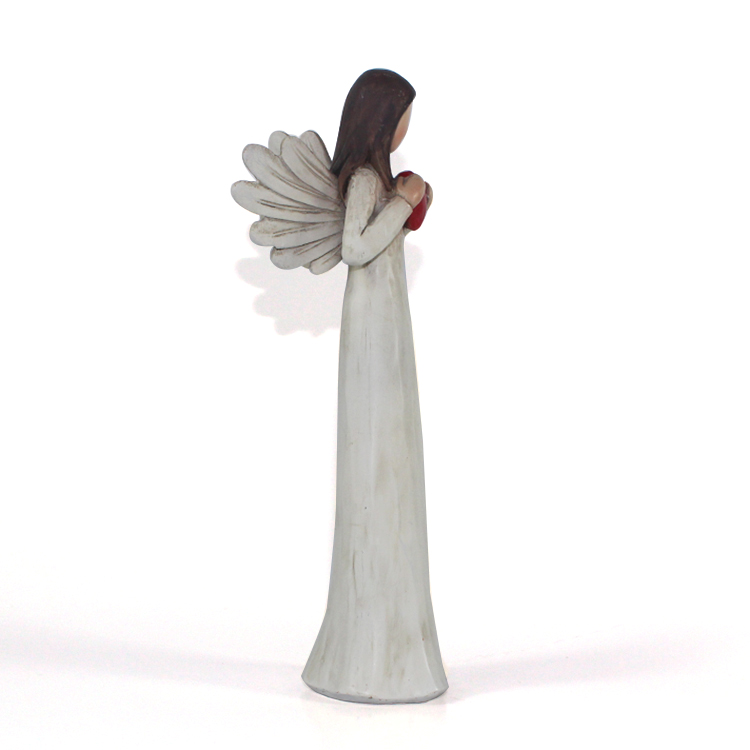 custom angel resin figurine home decoration gifts