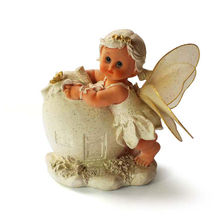 Promotional resin piggy bank with angel shape