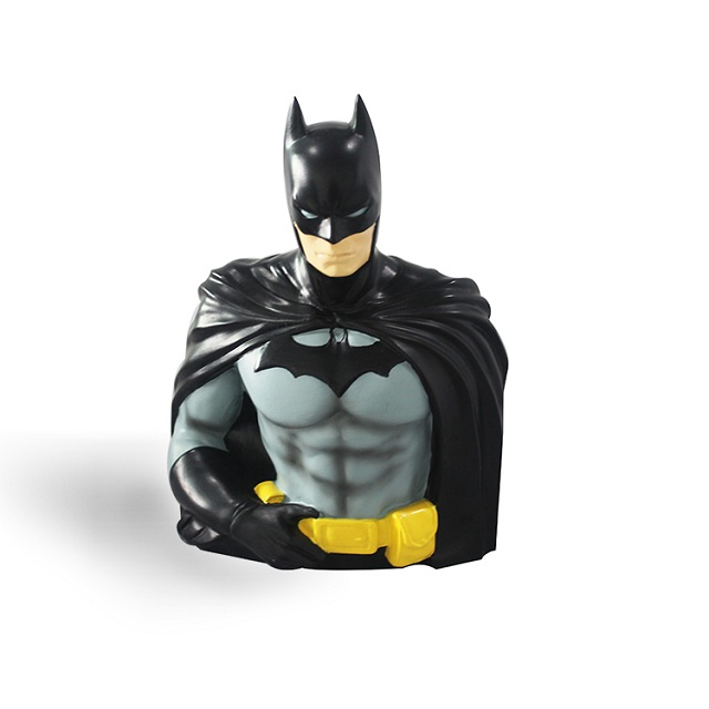Customized Batman statue coin bank