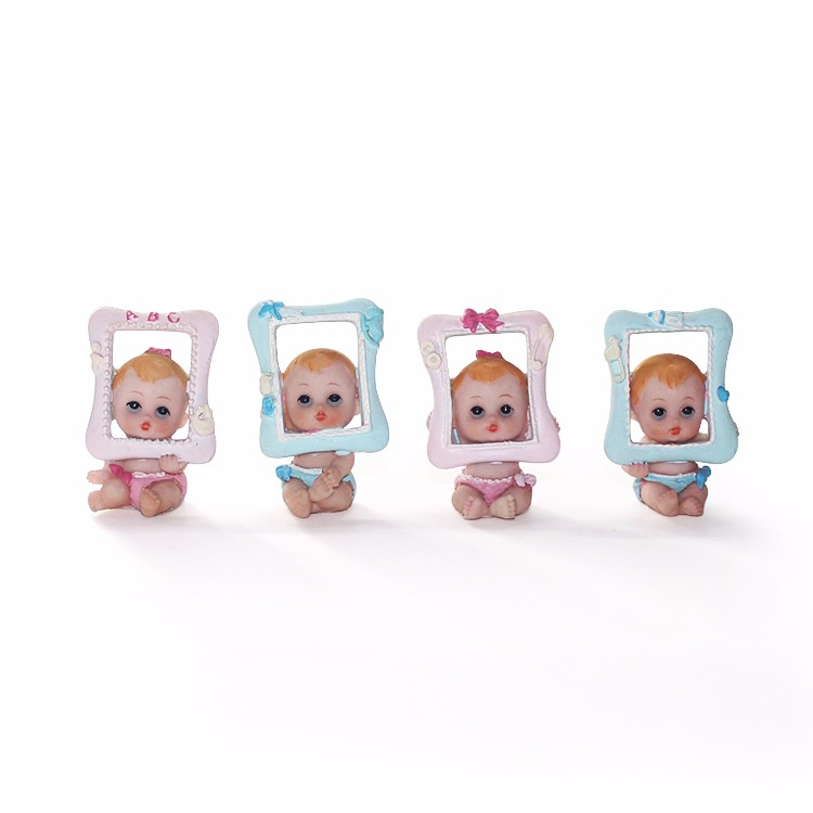 Cute polyresin hand made baby souvenir figure home ornament