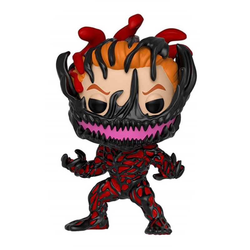 handmade bobble head classic character edward brock venom action figure