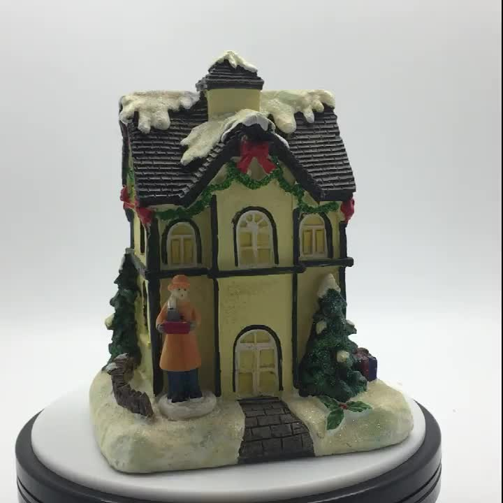 custom resin model miniature house for sale