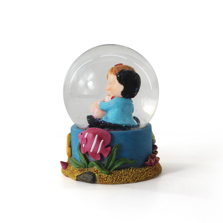 2020 new year baby souvenir snow globe for new baby