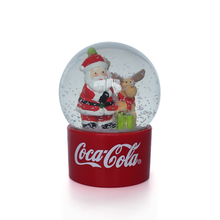Hot sale snow globe for Christmas Holiday christmas snowglobe resin snow globe mecca