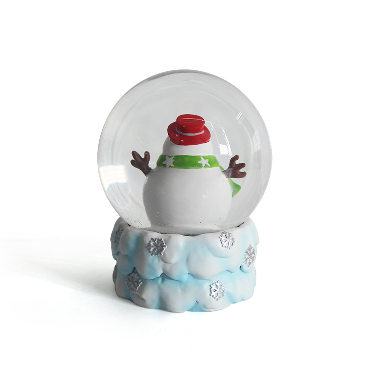 Polyresin Souvenirs Snow Globe Glass Ball Holiday Gift