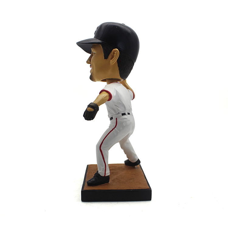 Baseball player resin bobbleheads personalized gifts