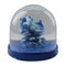Artificial snow globe sea world
