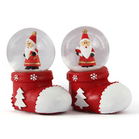 unique christmas glass up snow globes
