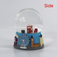 2018 lighted vehicle snow globe ball