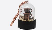 Custom lovely souvenir resin keychain for sales