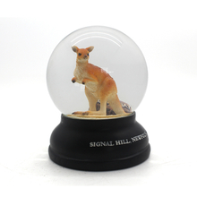 custom made souvenir gift animal resin snow globe