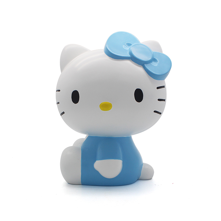 hello kitty coin bank custom handmade resin souvenirs