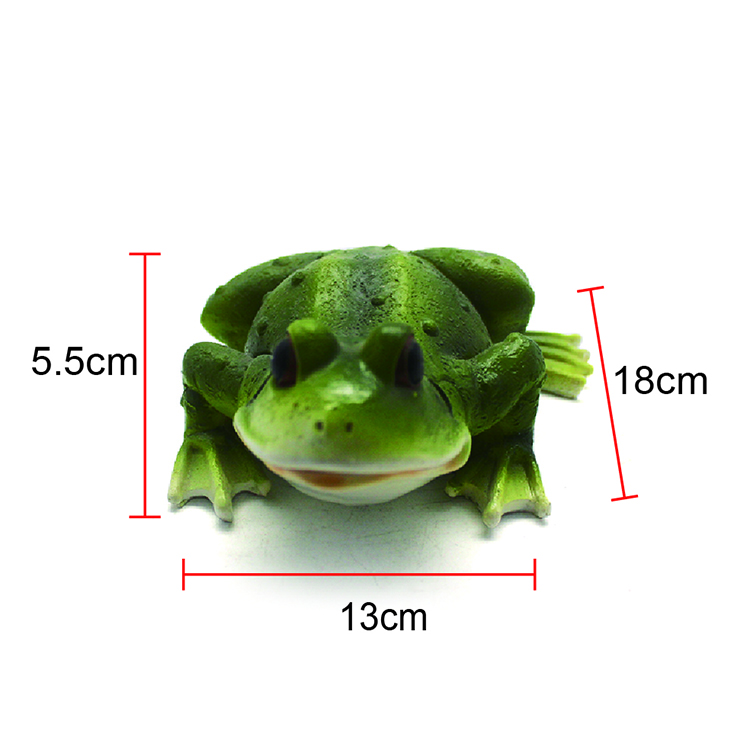 Custom-made high quality resin frogs of decorative animal statues